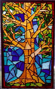 My First Stained Glass Artwork