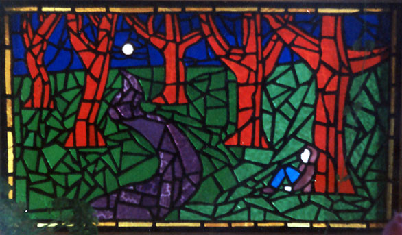 Despair and Hope - Stained Glass by Torben Sorensen