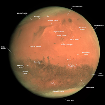 Mars Annotated